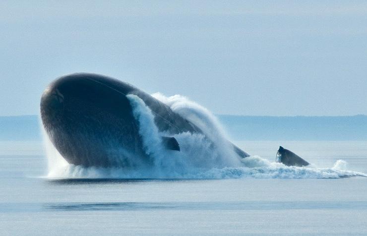 The Yuri Dolgoruky submarine