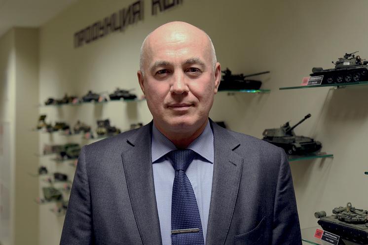 UVZ Deputy CEO Vyacheslav Khalitov