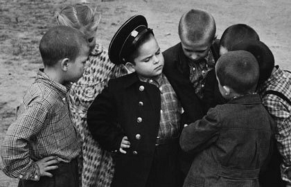 Первоклассник. 1955 год. Фото ИТАР-ТАСС
