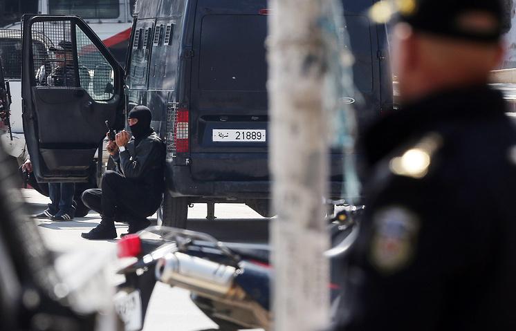 Спецназ во время теракта в Тунисе. 18 марта 2015 год
