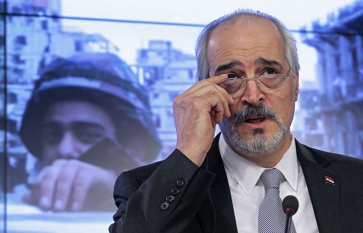 Постпред Сирии при ООН Башар аль-Джаафари