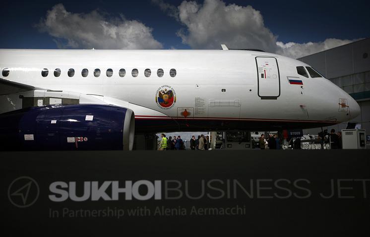 Бизнес-версия самолета SSJ-100
