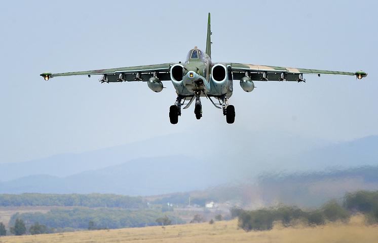 """Штурмовик Су-25 """"Грач"""""""