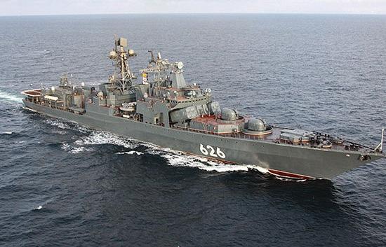 """Большой противолодочный корабль """"Вице-адмирал Кулаков"""""""