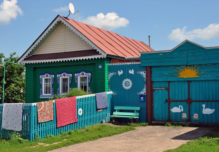 Дом кряшен в Пестречинском районе