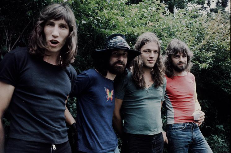 Pink Floyd live at Hakone Aphrodite, Kanagawa, August 6, 1971.