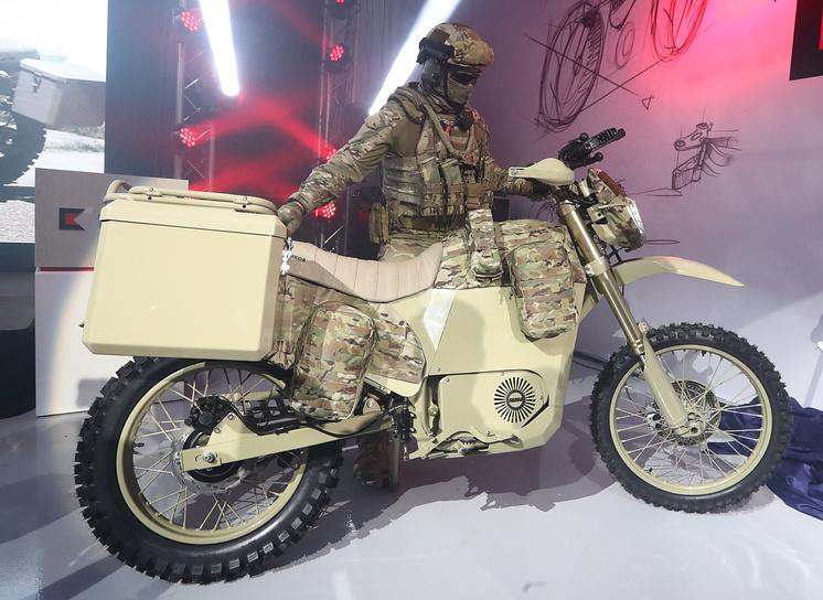 Мотоцикл ИЖ для спецназа
