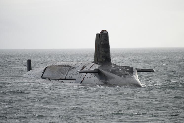 Атомная подлодка класса Vanguard
