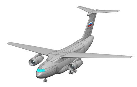 Проект среднего военно-транспортного самолета Ил-276