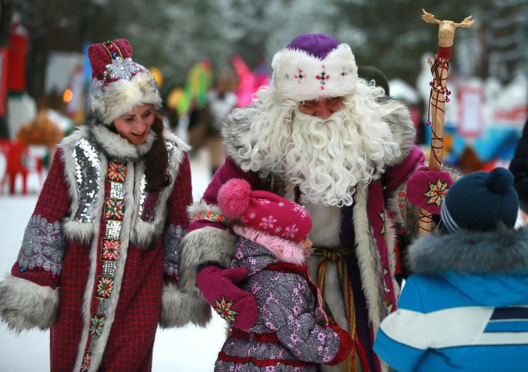 В резиденции Деда Мороза в Великом Устюге