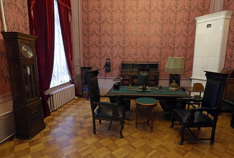 Кабинет Феликса Дзержинского в Музее политической истории