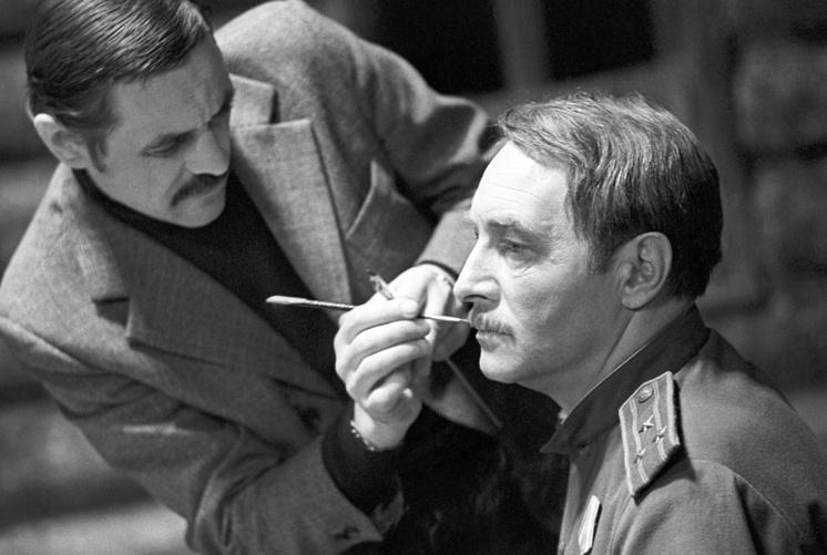 """Съемки фильма """"Фронт за линией фронта"""", 1977 год"""