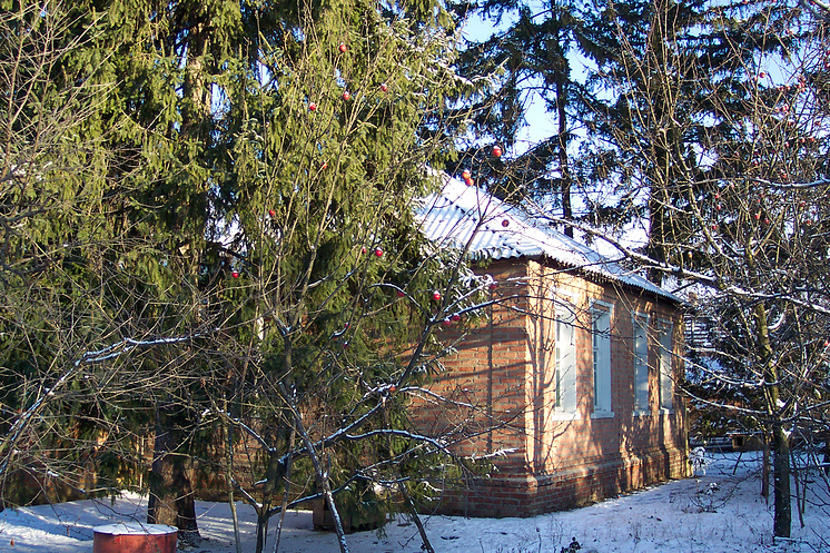 Дом Кнорозовых в Южном, под Харьковом