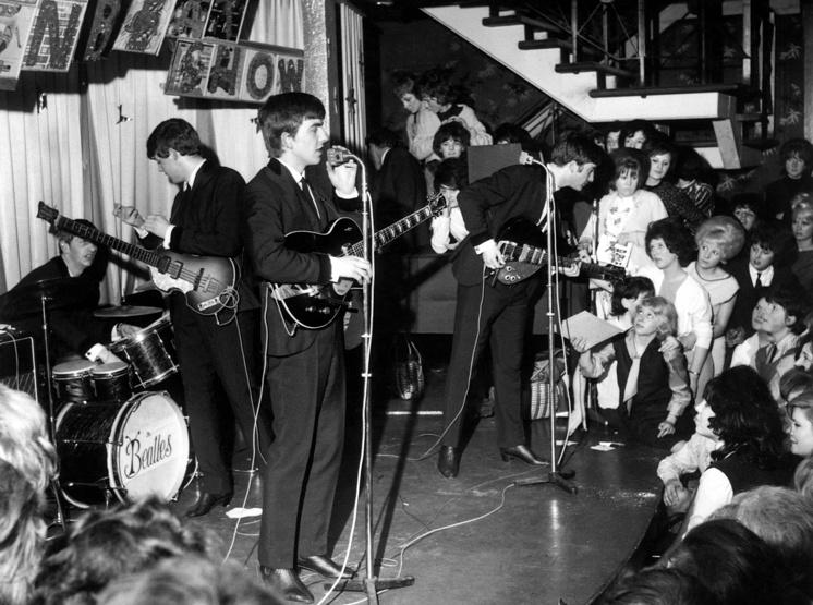 Во время концерта, 1963 год
