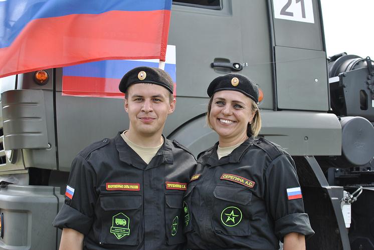 Сергей Трубников и Анастасия Серегина