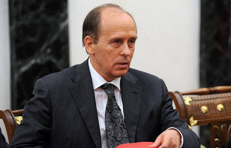 Russian Federal Security Service head Aleksander Bortnikov