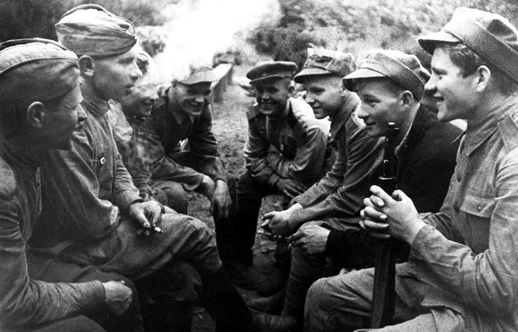 Солдаты 2-го Белорусского фронта, 1944 год
