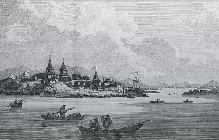 Охотск в 1802 году