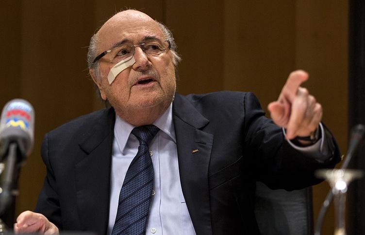 Бывший президент ФИФА Йозеф Блаттер