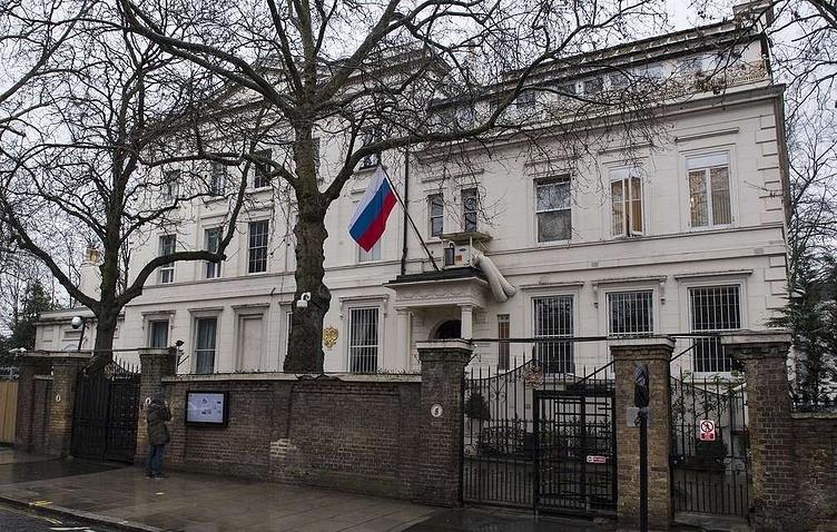 Здание посольства РФ в Лондоне